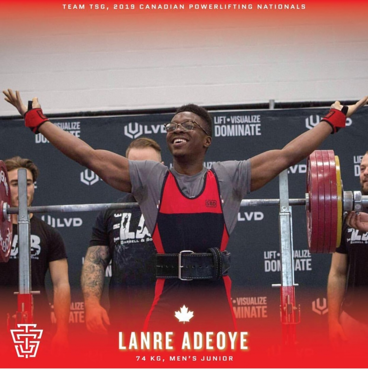 CPU Nationals 2019 Lanre Adeoye