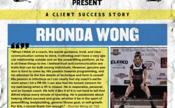 Rhonda Wong Powerlifting Success Story