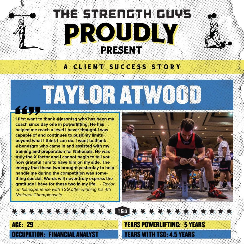 Taylor Atwood's Success Story