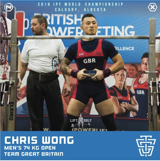2018 IPF World Championship - Chris Wong