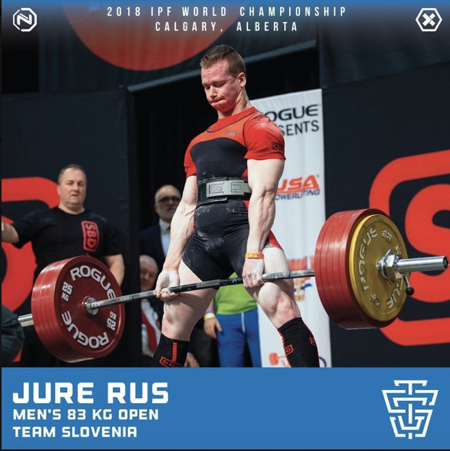 2018 IPF World Championship - Jure Rus TSG Athlete