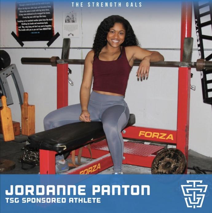 Strength Gal Jordanne Panton