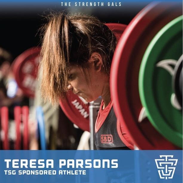 Strength Gal Teresa Parsons