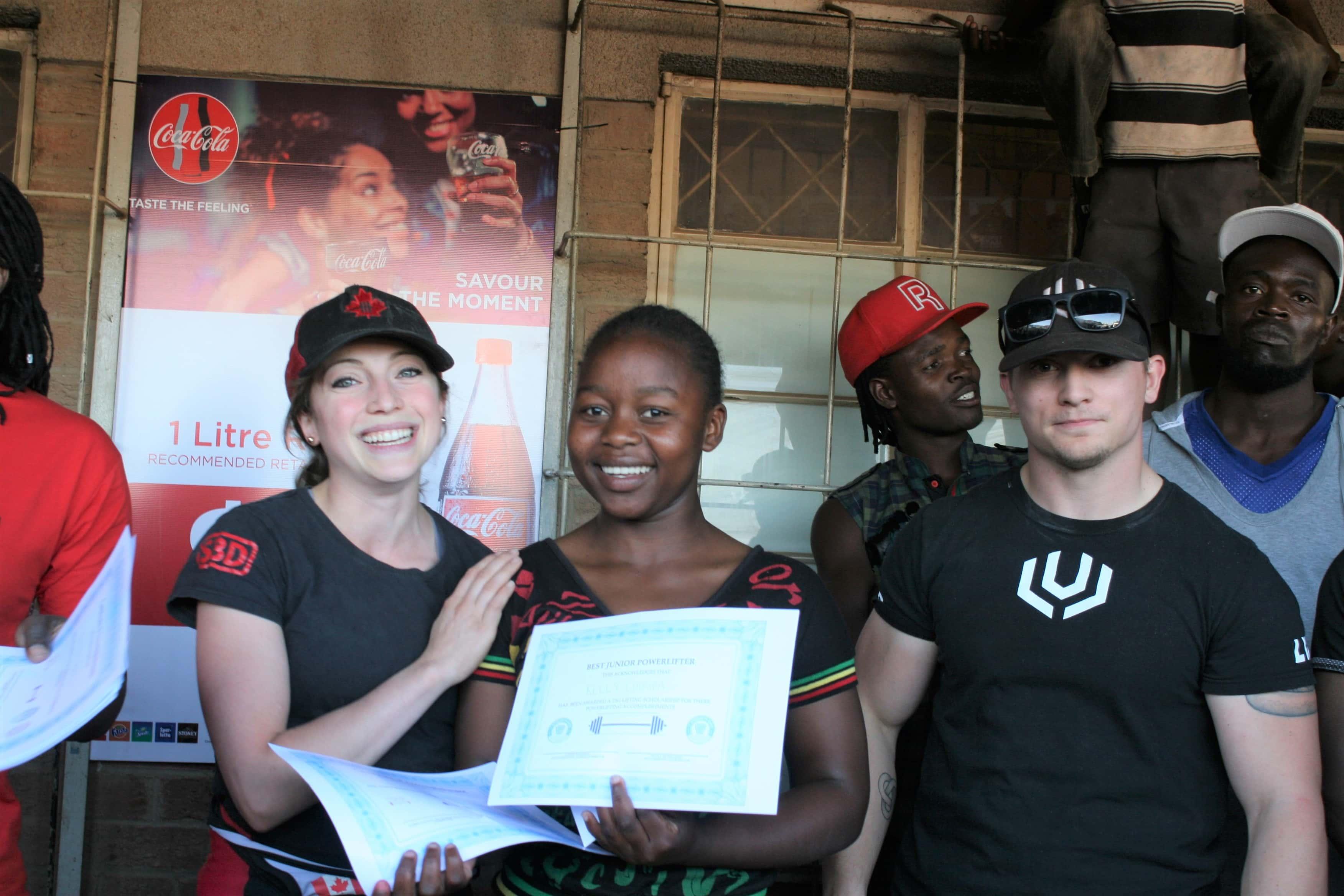 Female Youth Scholarship Kelly