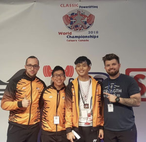 Team Malaysia with Jason and Ryan