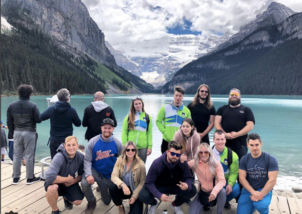 Team Slovenia and XLR8 Lake Louise