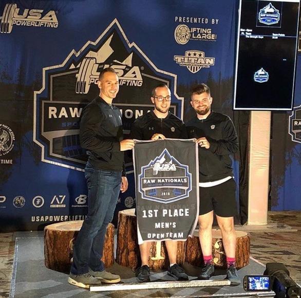 TSG UA Jackets USAPL Raw Nationals 2018 Team Win