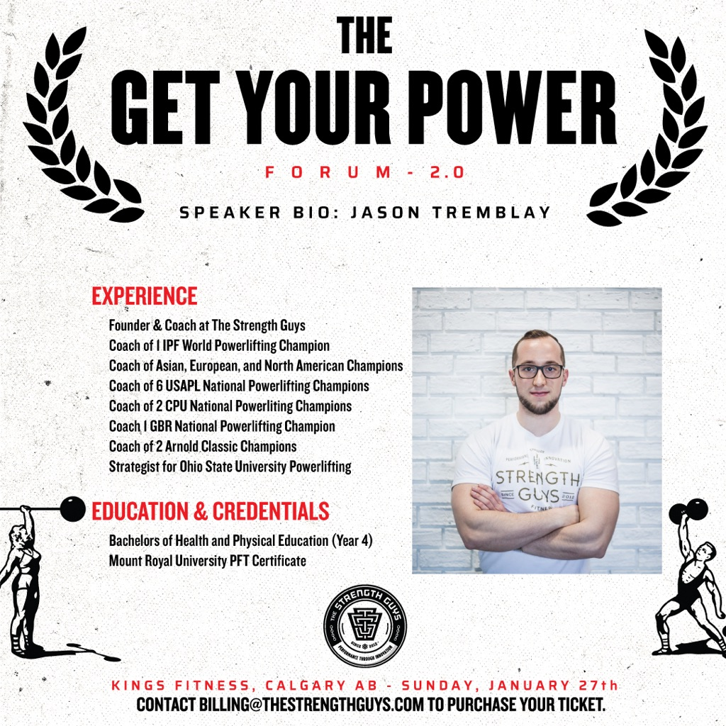 Get Your Power Jason Tremblay