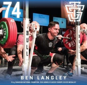 Ben Langley 2019 IPF Worlds Team TSG