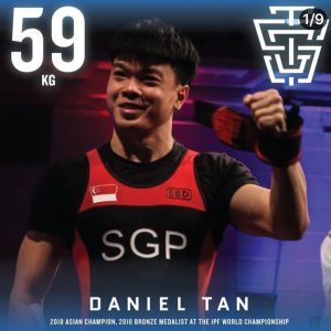 Daniel Tan 2019 IPF Worlds Team TSG