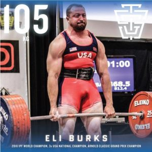 Eli Burks 2019 IPF Worlds Team TSG