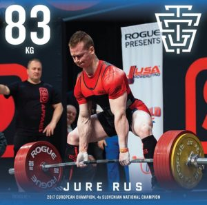 Jure Rus 2019 IPF Worlds Team TSG