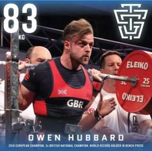 Owen Hubbard 2019 IPF Worlds Team TSG