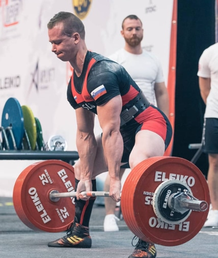 Jure Rus at 2019 IPF Worlds