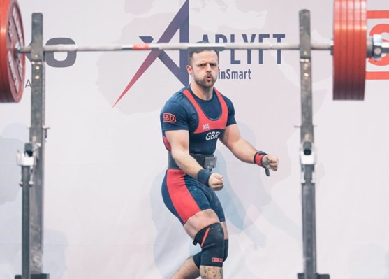 Owen Hubbard at 2019 IPF Worlds