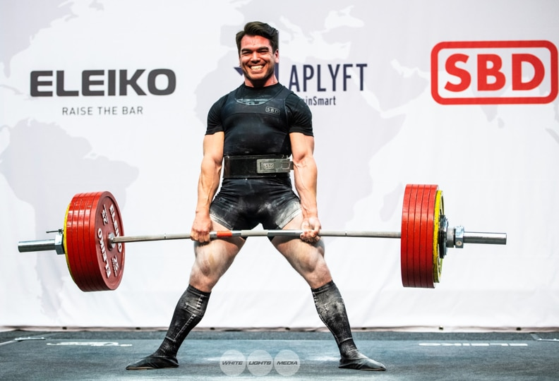 Taylor Atwood at 2019 IPF World Champion in Sweden