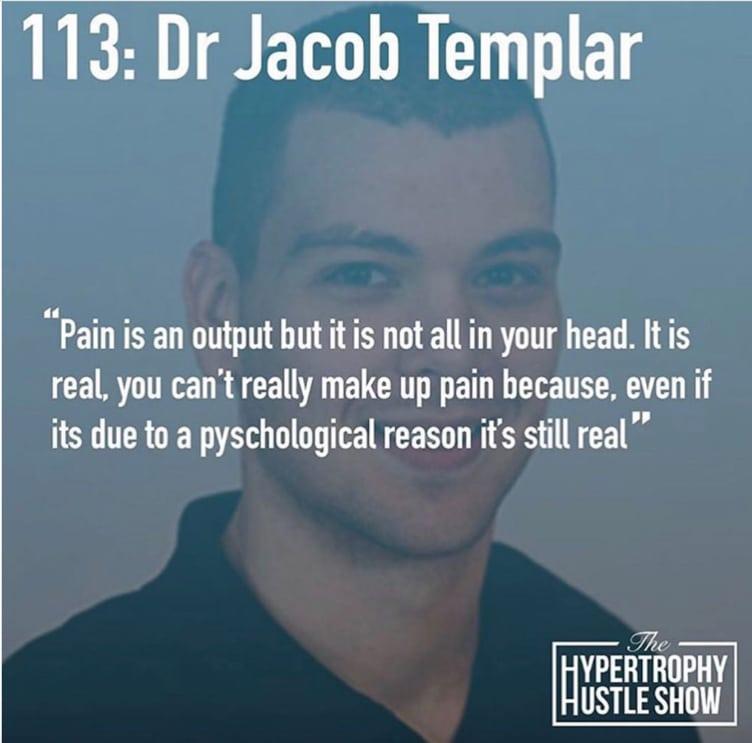 Dr. Jacob Templar Hypertrophy Hustle Show