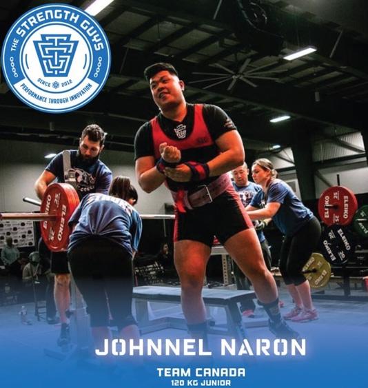 Johnnel Naron 2019 NAPF Championship