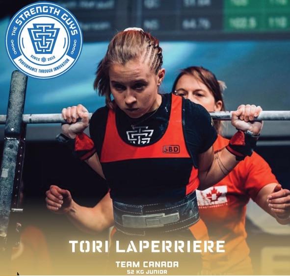 Tori Laperriere 2019 NAPF Championship