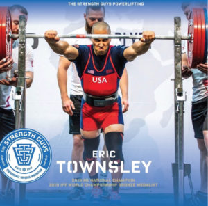 Team TSG Eric Townsley 2019 IPF Worlds Bronze Medalist