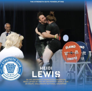 Powerlifting Team TSG Heidi Lewis