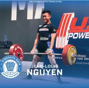TSG Powerlifter Jean-Louis Nguyen