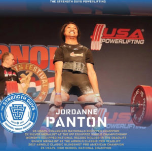 TSG Powerlifting Athlete Jordanne Panton