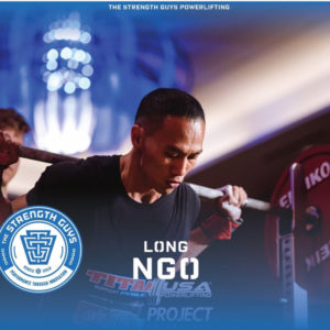 Long Ngo TSG Powerlifting Athlete