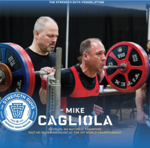 Mike Cagliola M1 Powerlifter TSG Athlete