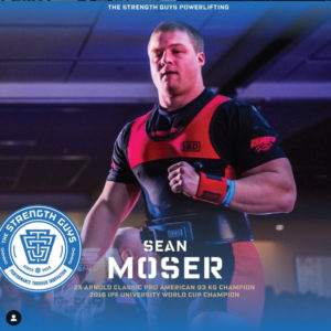 Team TSG Sean Moser Arnold Classic Pro American Champ