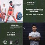 Powerlifting Seminar Vietnam