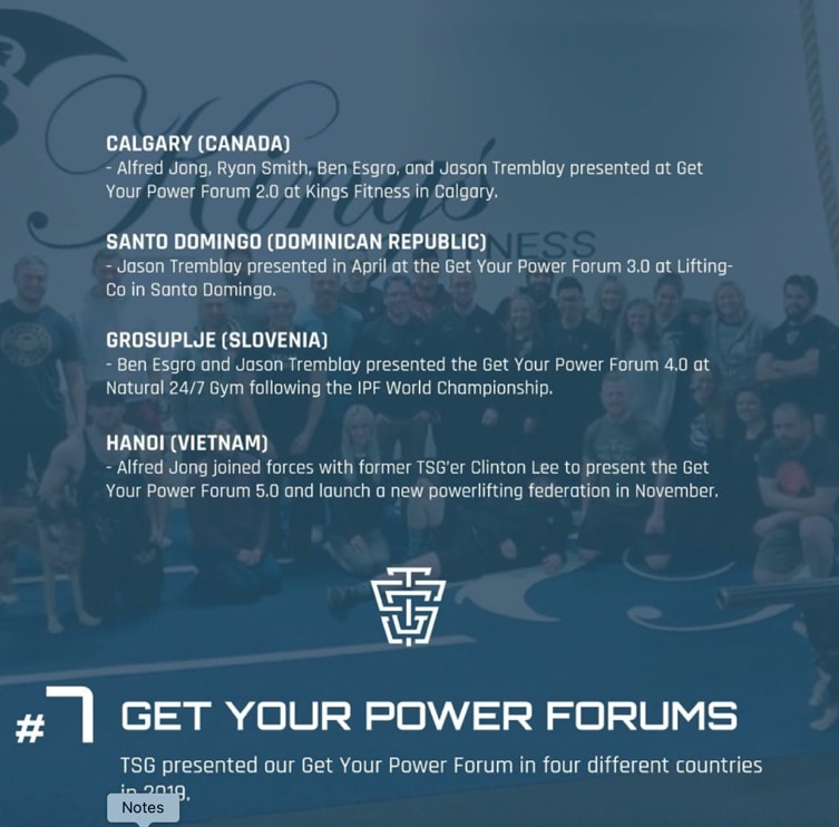 TSG NYE 2019 Get Your Power Forums