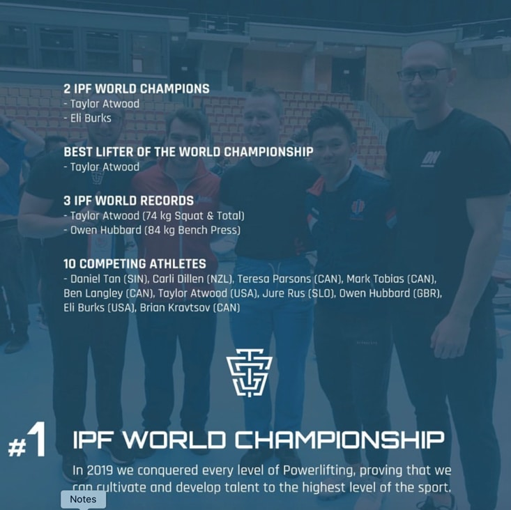 TSG NYE 2019 Year in Review IPF World Championship