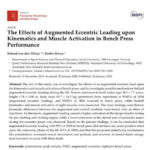 Effects of Augmented Eccentric Loading Publication