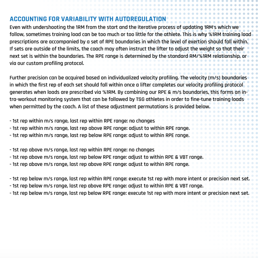 Assessment Accounting For Variability With Autoregulation