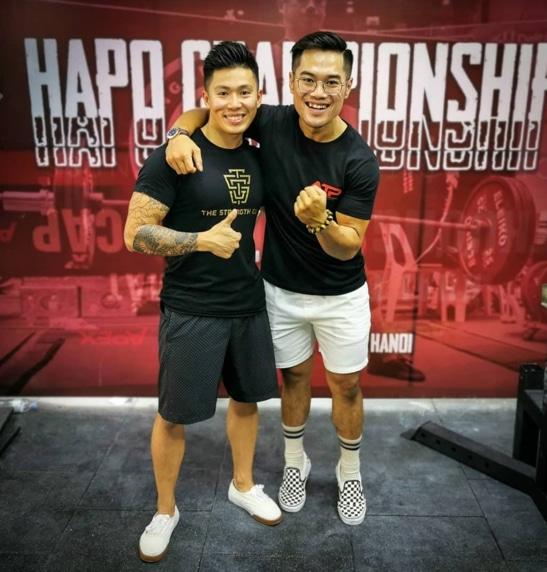 Clinton Lee Alfred Jong Asian Champ