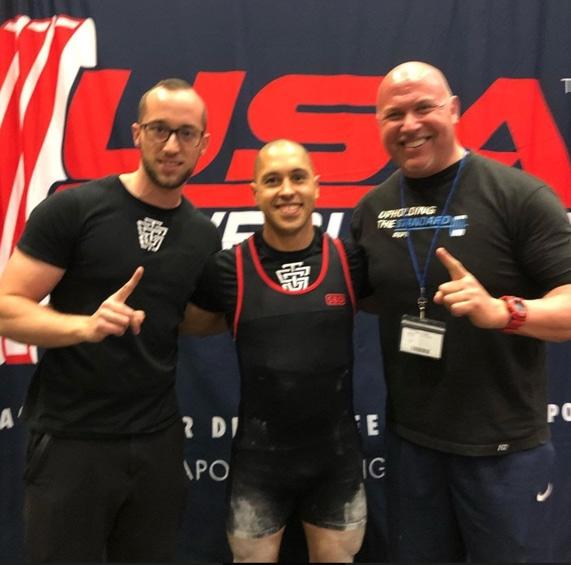 Eric Townsley, Coach Jason Tremblay, Matt Gary