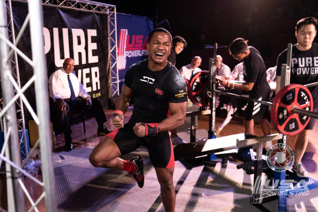Quentin Myers USAPL Bench Champ TSG Success Stories