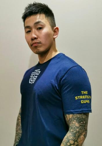 Meet Shirt Navy Sleeve