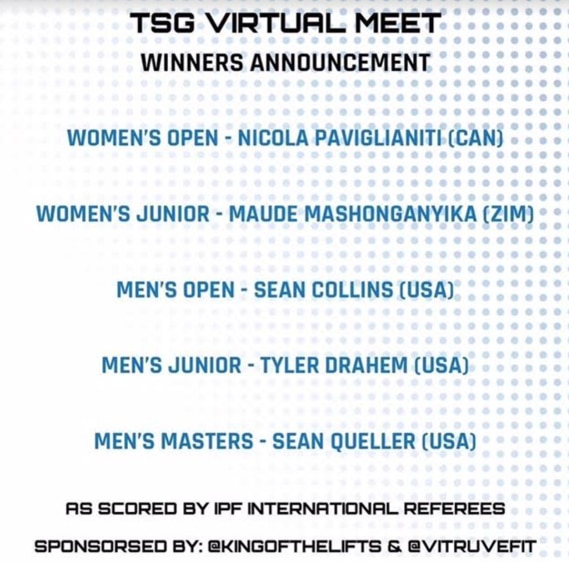 2020 Year End Review Virtual Meet Champs